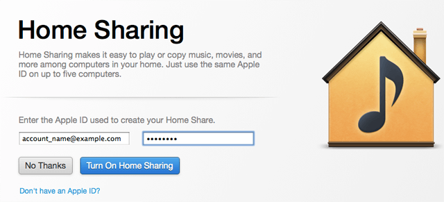 Share iTunes Library between users