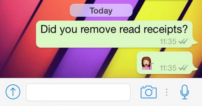 check read receipts