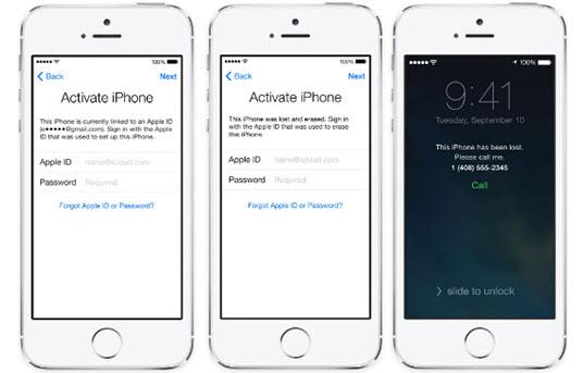 Delete iCloud Activation Lock on iPhone