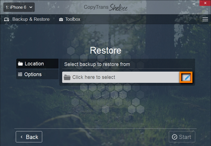 cts-restore-from-menu