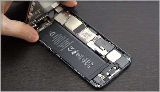 change the battery of your iPhone