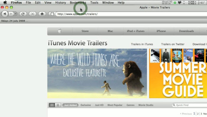 Download QuickTime Trailers