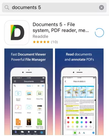 install readdle document5 for ios