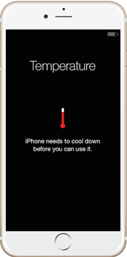 iPhone overheat