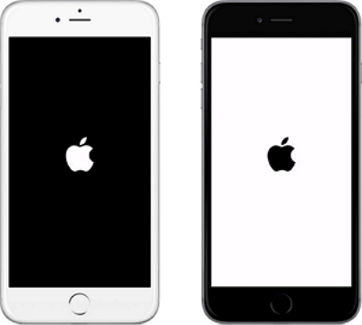 iPhone  stuck on white/black apple logo