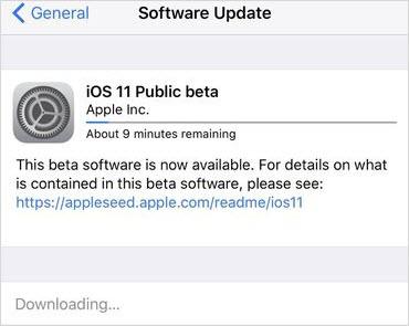 mettre à jour iOS 15