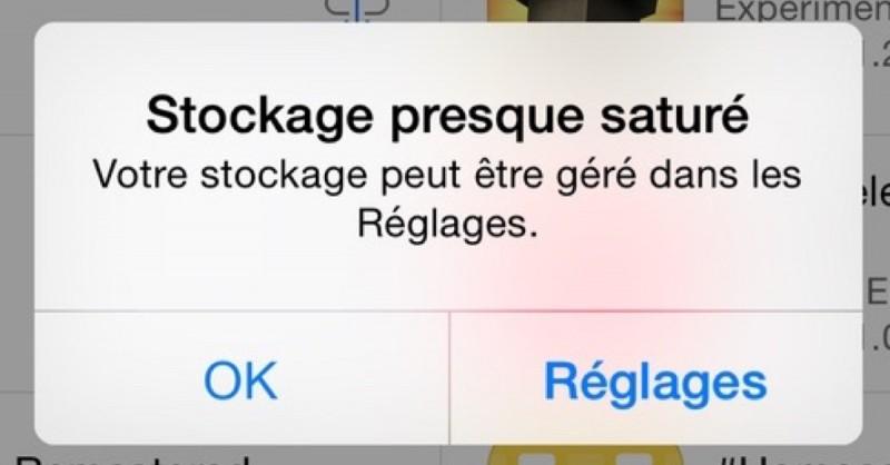 iPhone Storage Full