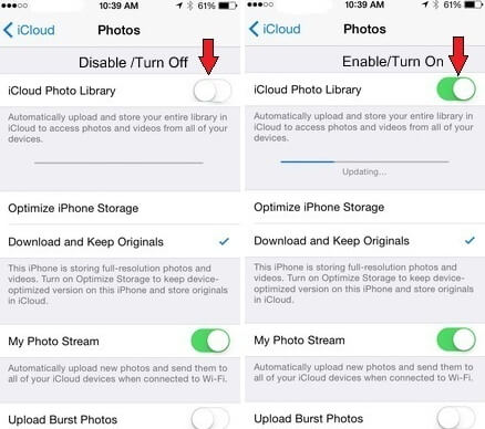 download photos  from iCloud photos library