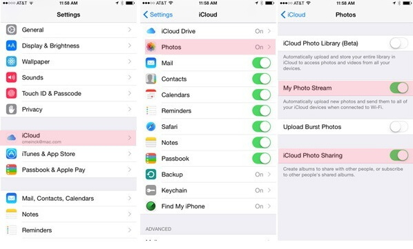 download photos  from iCloud photos stream