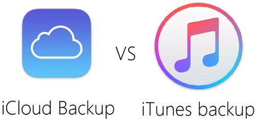 iTunes and iCloud backup