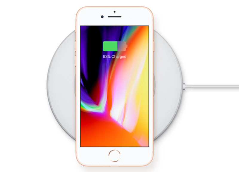 iphone 8 wireless charge