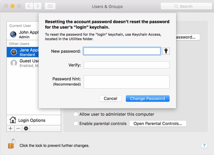 itunes download without administrator password