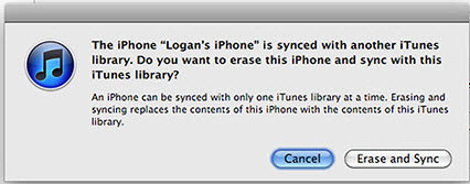 iTunes Can't Sync Music to iPhone