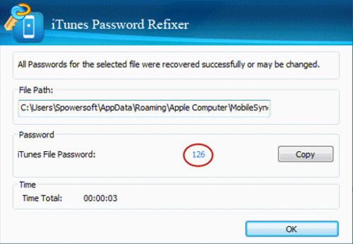 iTunes Password Refixer