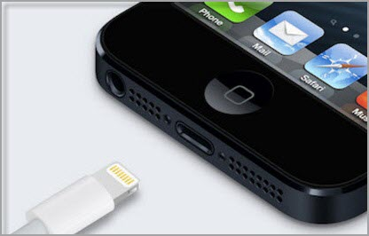 iPhone usb and port