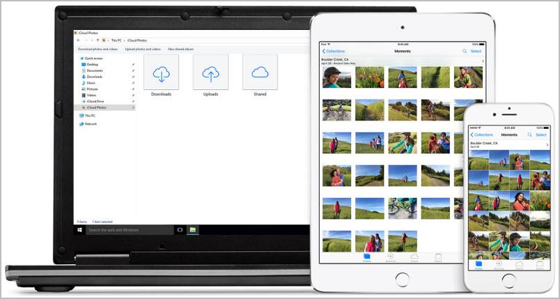 Win-iCloud-Photo-Library