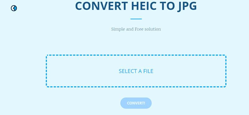 HEIC to JPG Converters Online