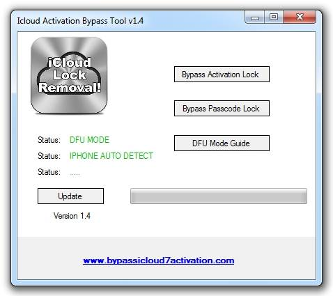 bypass icloud activation tool