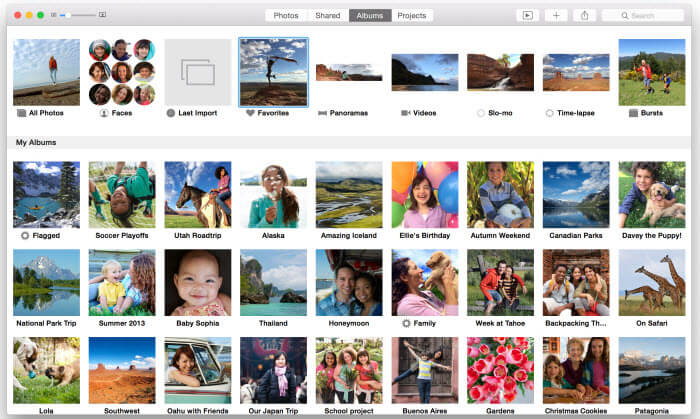transfer photos from iPhone to Mac without iPhoto via Photos