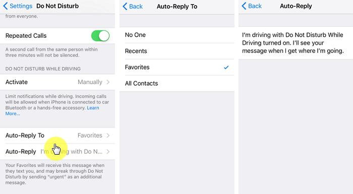Set up the Auto-Reply