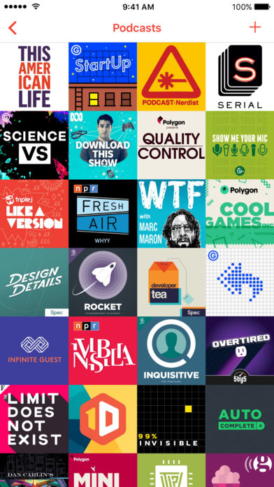 Pocket-Casts-App