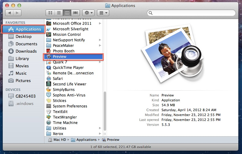 transfer photos from iPhone to Mac without iPhoto vis Preview