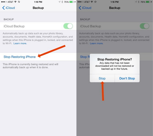 How to Fix iCloud Backup Restore Stuck on iPhone X/iPhone 8