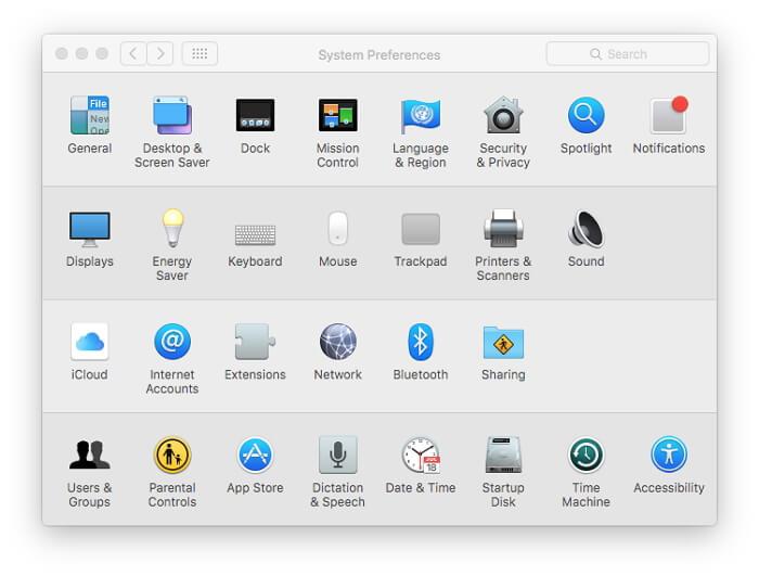 system-preference-mac