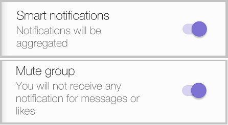Group Notifications