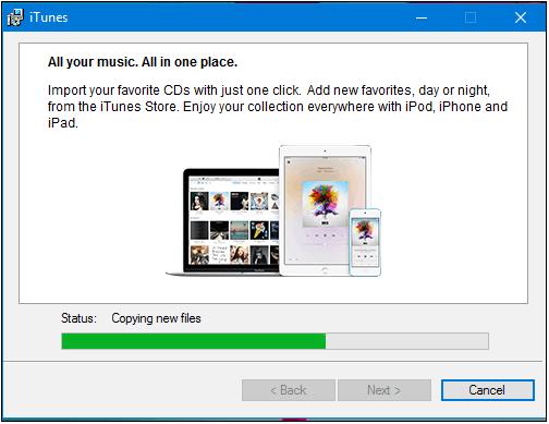 Install-iTunes