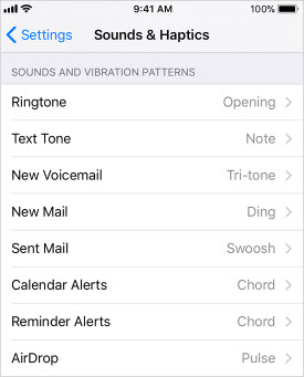 change ringtones