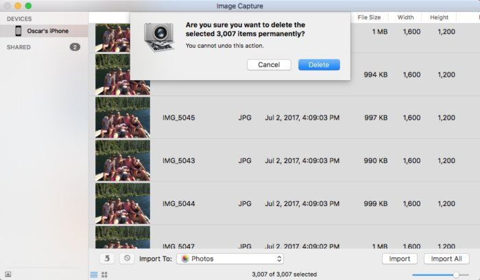 image-capture-macos-delete-photos