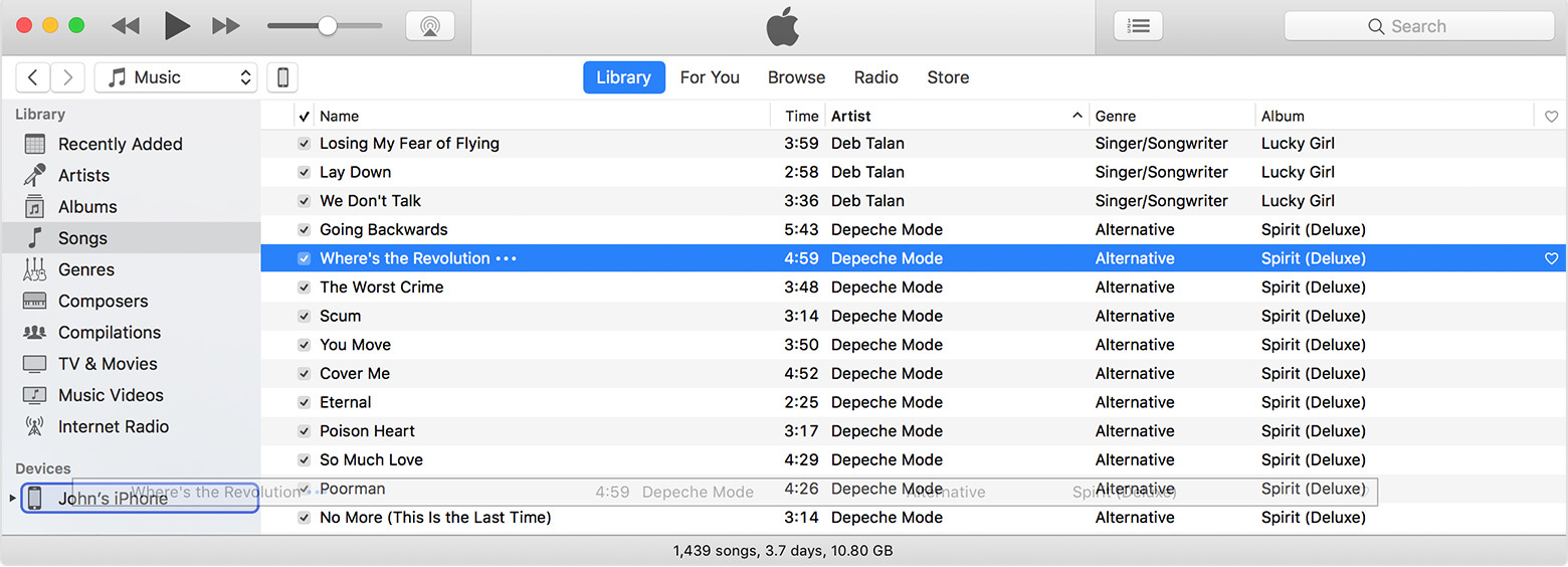 Fix iPhone Deletes All My Music with iTunes