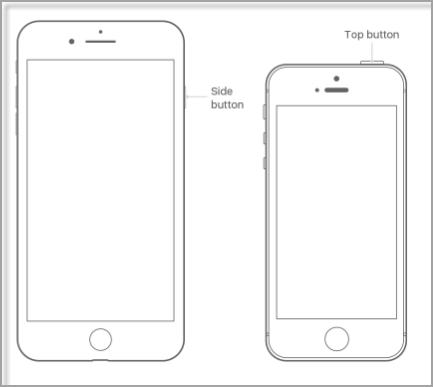 restart iPhone8