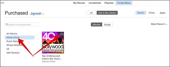 Redownload-music-in-iTunes