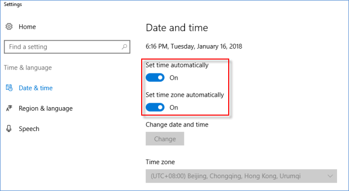 Set-Date-and-Time-on-Windows