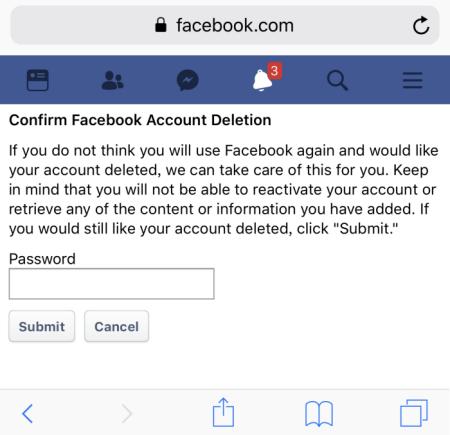 delete-facebook-account-on-iphone