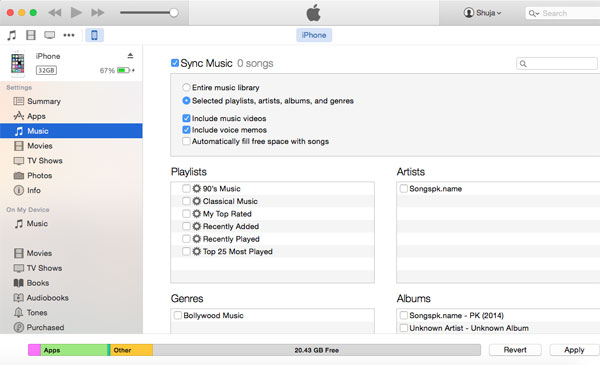 mac to itunes