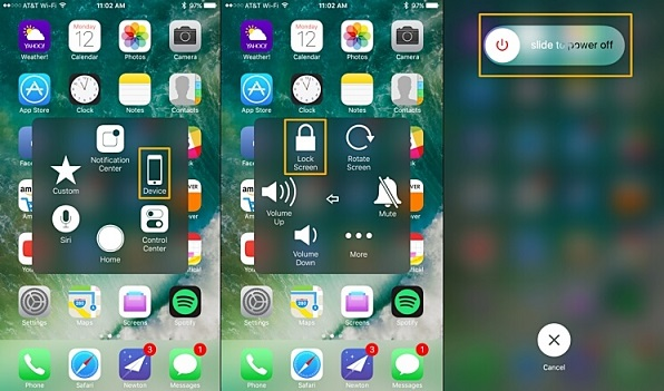 iphone touch screen wont work 6 fixes to restart iphone without power amp home button 5579