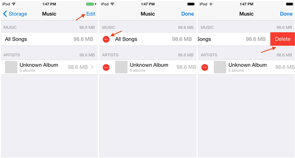 how-to-delete-songs-from-ios-device