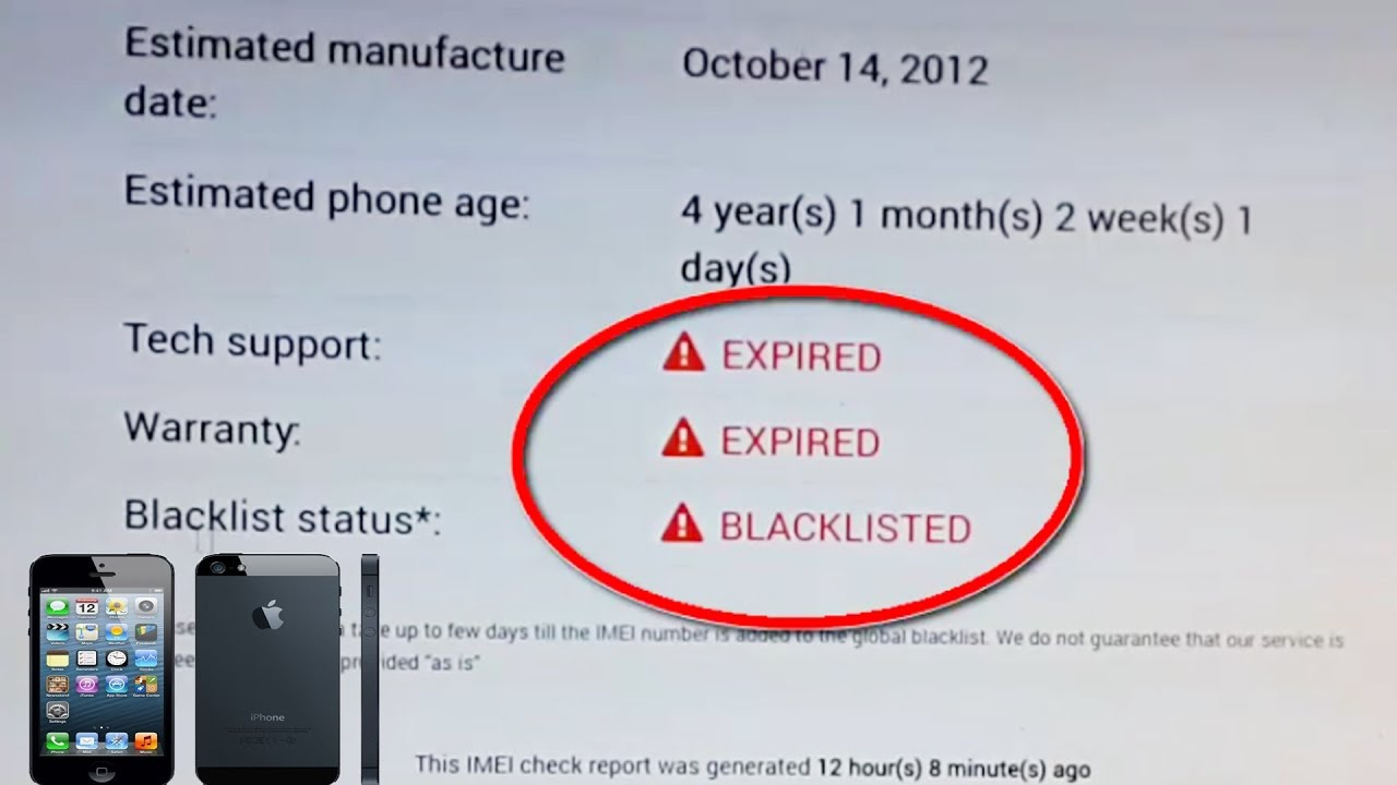 iPhone IMEI Blacklist