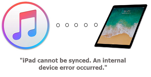 iPad not syncing error