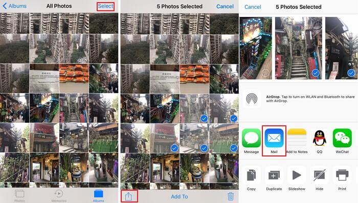 send-photos-using-email
