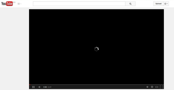 YouTube videos not loading