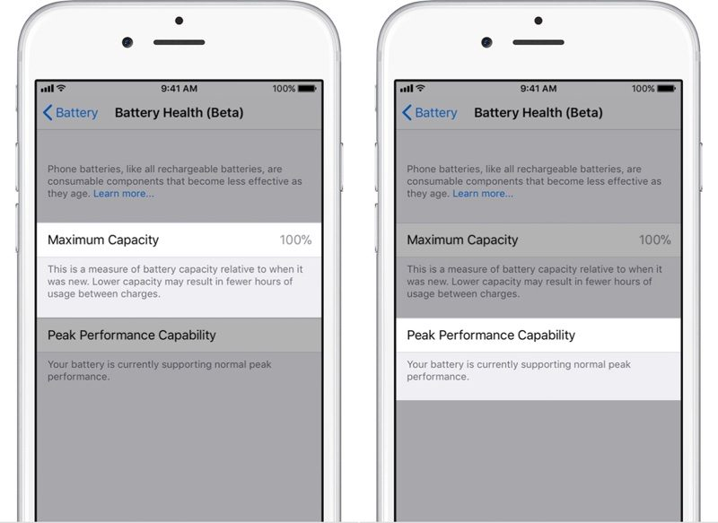 battery health ios 11.3