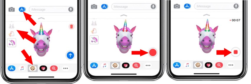 create animoji