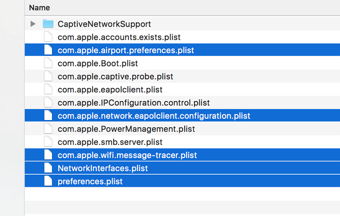 delete plst files