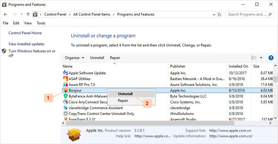Do You Really Need Bonjour? How to Uninstall iTunes Bonjour