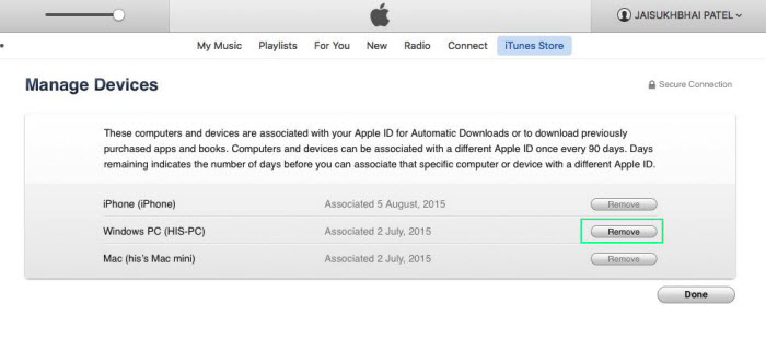 Remotely-signout-apple-ID-from-iTunes