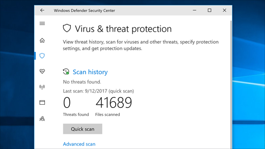 Virus and Threat Detection